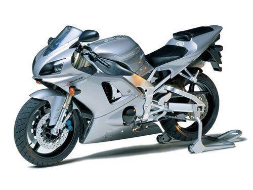 Tamiya 14074 1/12 Scale Motorcycle Model Kit Yamaha YZF-R1 Taira Racing #Tamiya