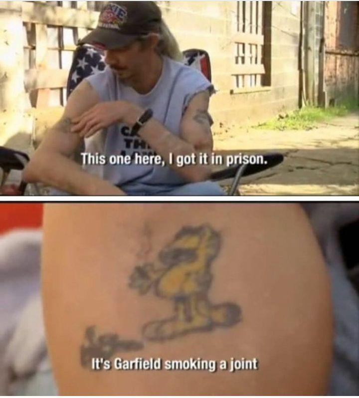 Most legit prison tattoo prison prison tattoos funny