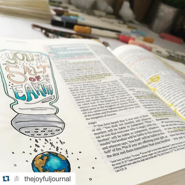 "Now this is a great visual.... See the ""salt""? It's drawn as tiny people - you and me! We are the seasoning that God is calling us to be! Be loving. Be kind. Be generous! Be the salt!  Thanks @thejoyfuljournal for this lesson in a picture!  Awesome!! #repostedwithpermission #craftedword #Repost @thejoyfuljournal with @repostapp.  ""You are the salt of the earth...the light of the world...a city on a hill...let your light shine before others so they may see your good works and give glory to…"