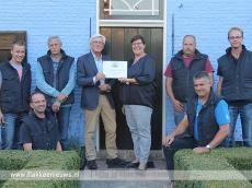 Foto behorende bij Opbrengst veiling Boerenlanddag naar Inloophuis De Boei
