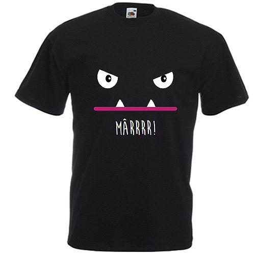 Monstru fioros    Atentie la monstrul fioros de pe acest tricou sau hanorac! S-ar putea sa va ... hmm.. sperie?! Sau sa va placa?