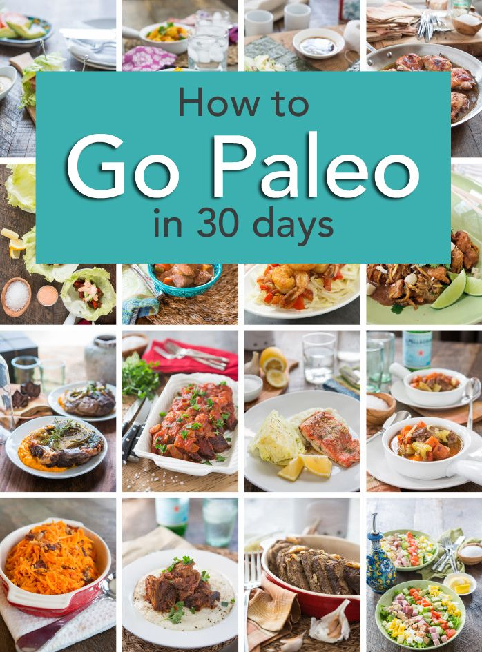 How to go paleo in 30 days