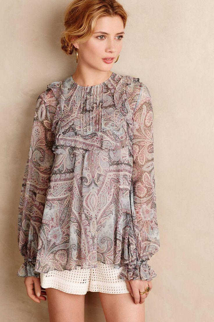 Malina Silk Blouse by Zimmermann