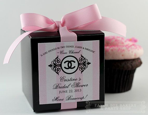 CLASSY and FABULOUS Cupcake Mix Party Favors for by FavorBoxBakery, $40.00