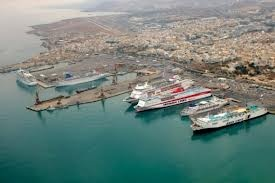 Heraklion Port The Heraklion Port is the biggest and the most modern port in Crete. A node of paramount national importance at the crossroads of three continents and divided in the old and new harbors.