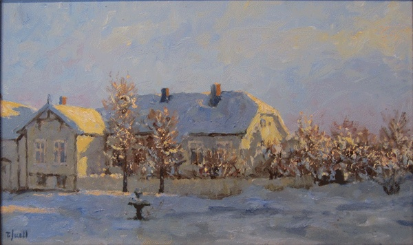 Tore Juell (1942-): Frostlys - Løkka
