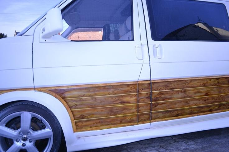 Faux wood panelling-   96 camper project. - VW T4 Forum - VW T5 Forum