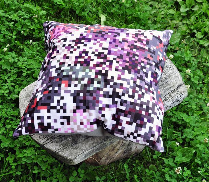 poduszka dekoracyjna 40 x 40 piksele szare