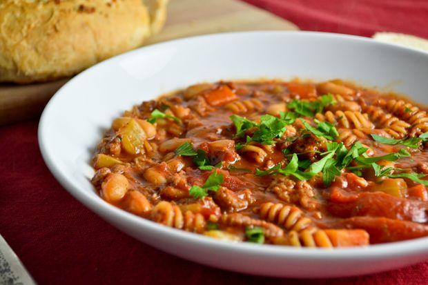 Slow Cooker Italian Chili | Crock Pot Recipes | Pinterest