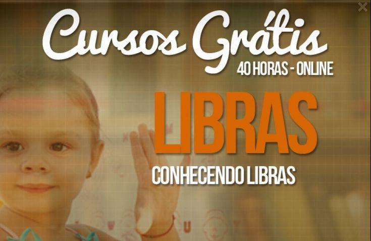 Curso de Libras online e gratuito - 40hrs