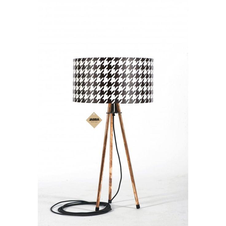 Lampa stołowa Retro Tripod Geometric - JABBA Design