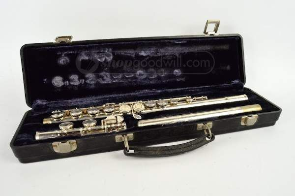 shopgoodwill.com: W.T. Armstrong Flute with Case
