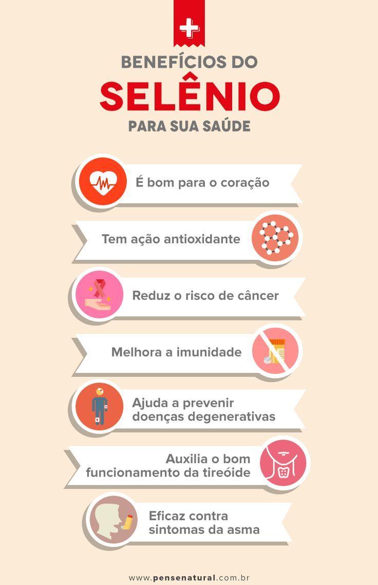 Selenium 7 Benefits To Your Health Comprovados Dicas De