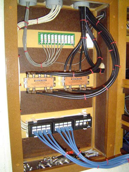 home internet wiring for 2015 internet wiring for a house whole house structured wiring / networking set-ups ...