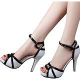 Shoe'N Tale Women's Mary Janes Pumps Sexy Peep Toe High Heels Platform Sandals Bridal Wedding Shoes from $42.99 by Amazon BESTSELLERS