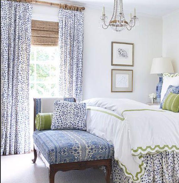 Brunschwig & Fils curtains Les Touches curtains dalmation print curtains custom designer curtain pan