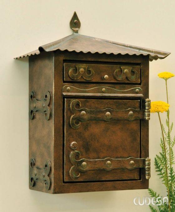 Купить Старинный почтовый ящик, ковка ручной работы ручной работы. Ручная работа Украина и Россия.