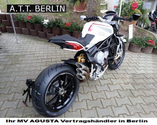 MV Agusta News & Dragster Umbau Kennzeichenhalter!