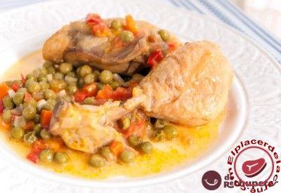 Pollo a la jardinera - Elplacerdelacarne.com