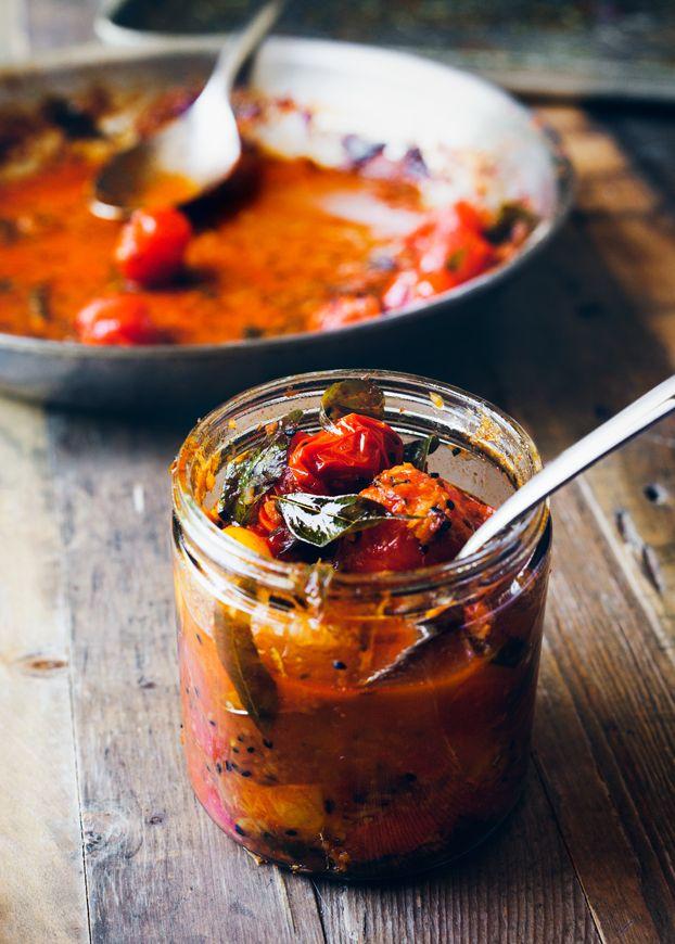 Chef Preeti Mistry's Tomato Chutney | Eva Kolenko Photography