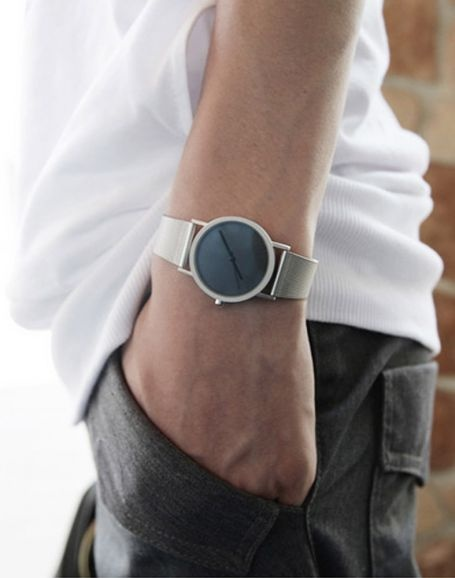 Reloj Silver Circle: Watches Design, Men Minimalist Watches, Style, Circles Watches, Reloj Silver, Men'S Minimalist Watches, Men Fashion, Silver Circles, Buy Watches