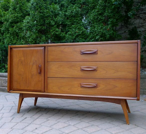 SCULPTED mid century MODERN CREDENZA in Weehawken, New Jersey ~ Krrb Classifieds