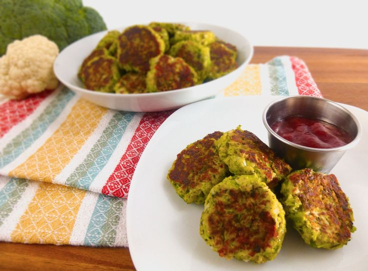 Broccoli Cauliflower Nuggets