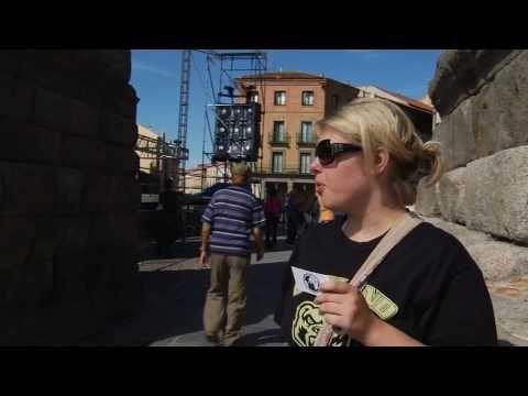 (video, Spain) Roman Aqueduct - Segovia, Spain - YouTube