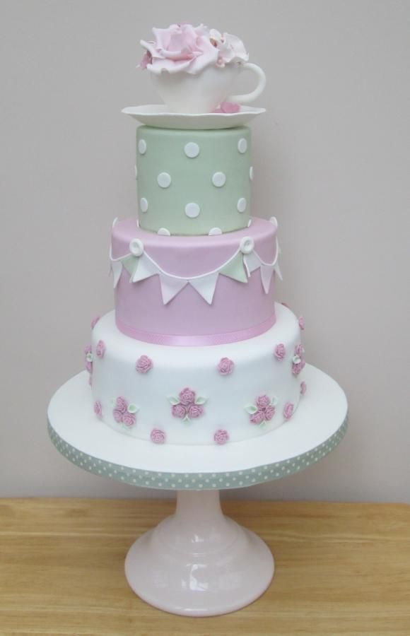 Cath Kidston Vintage Tea Cup by The Buttercream Pantry
