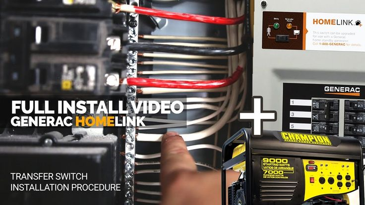 How I Installed the Generac Generator Transfer Switch | Full Install | H...