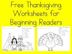 Free Thanksgiving Worksheet for Kids. Visit www.sightandsound... fore more free worksheets.