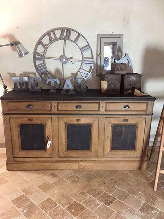 Tres belle enfilade louis philippe style industriel, meuble de