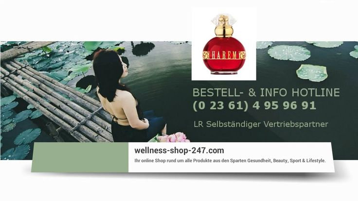 Video Beitrag vom Wellness-Shop-247.com Team aus der Produkt-Rubrik LR Damendüfte - LR Damen Parfum Harem günstig kaufen im LR online Shop.