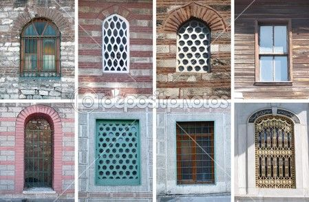 Старые окна — стоковое изображение #12663171