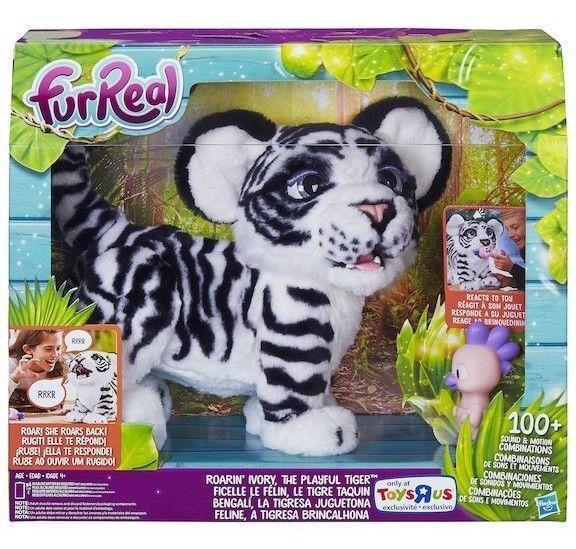 Furreal Friends 38288 Ivory White Furreal Roarin Tyler The