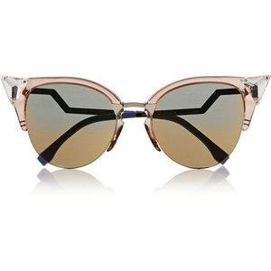 Fendi Crystal-embellished cat eye Optyl™ sunglasses