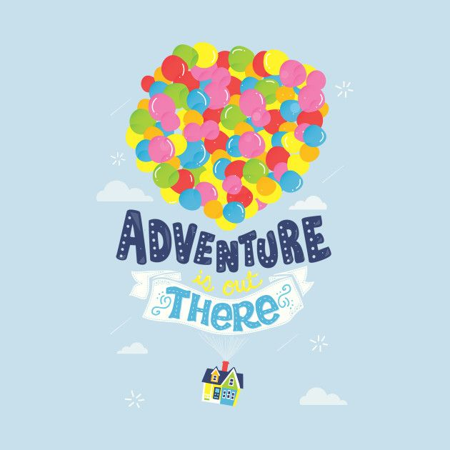 adventure is out there up t shirt teepublic art pixar