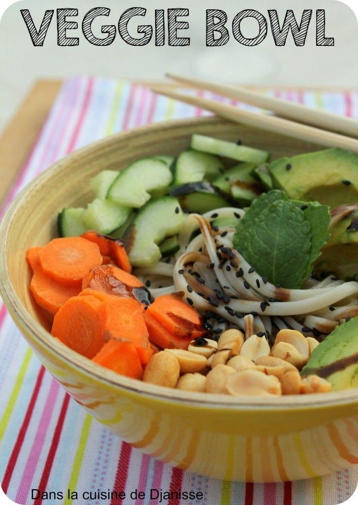 Une pseudo soupe de ramen aux légumes, sucré/salé