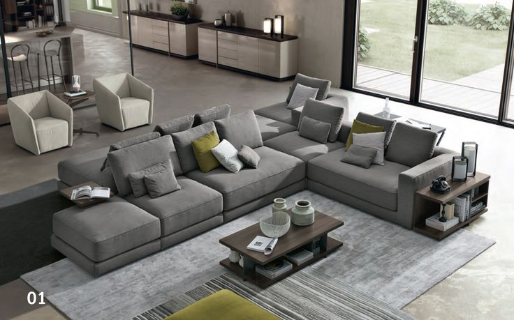 Grey, Light, Couches, Living Room Ideas