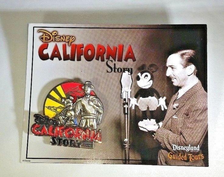 Disney California Story Tour Pin - Disney California Adventure, Disneyland RARE #Disney