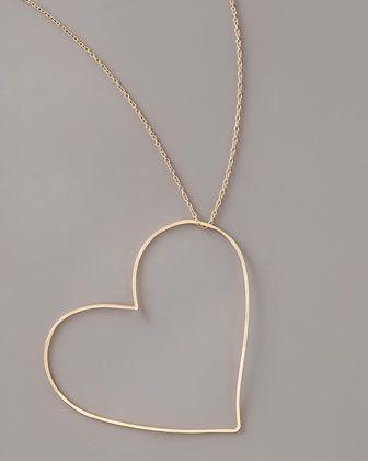 Heart Pendant Necklace - Neiman Marcus