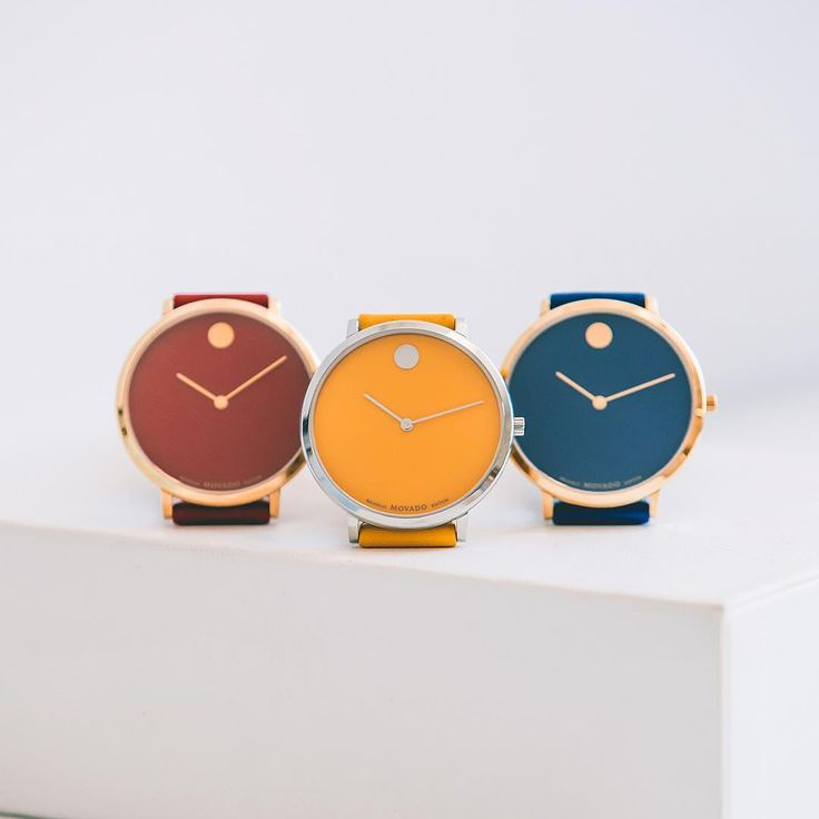 #Movado draws on the aesthetic philosophy of the Bauhaus – simplicity, tastefulness, function