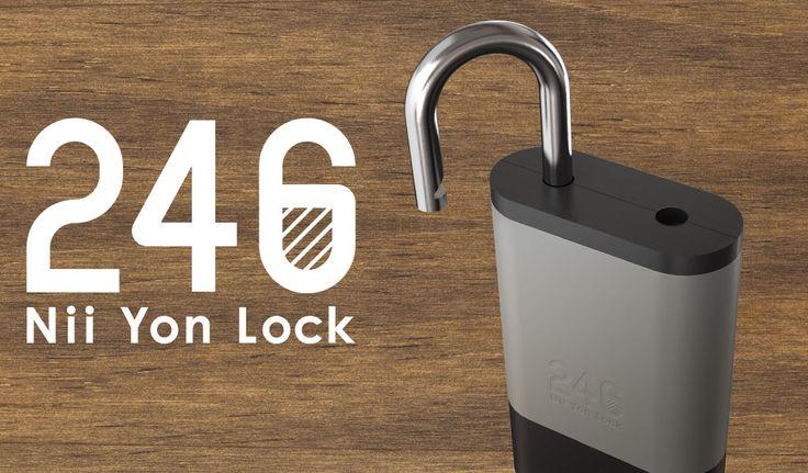 2015年3月5日(木)より「246(ニーヨンロック)」のコンセプトモデル「246 Padlock(パドロック)」正式販売開始