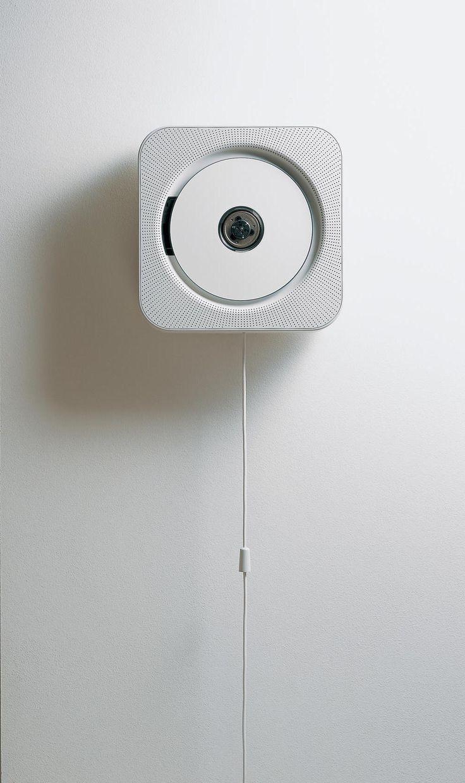 "Muji (Without thought) CD player pentru DMN, conceput în cadrul proiectului ""Without Thought"", 1990 design de Naoto Fukasawa"