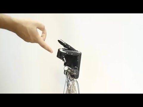 Sorpréndete con las características de esta mano robótica autodidacta - http://www.actualidadgadget.com/sorprendete-las-caracteristicas-esta-mano-robotica-autodidacta/