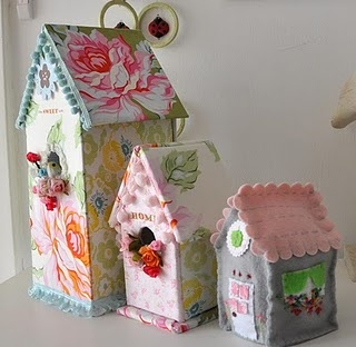LOVE those houses! so cute!