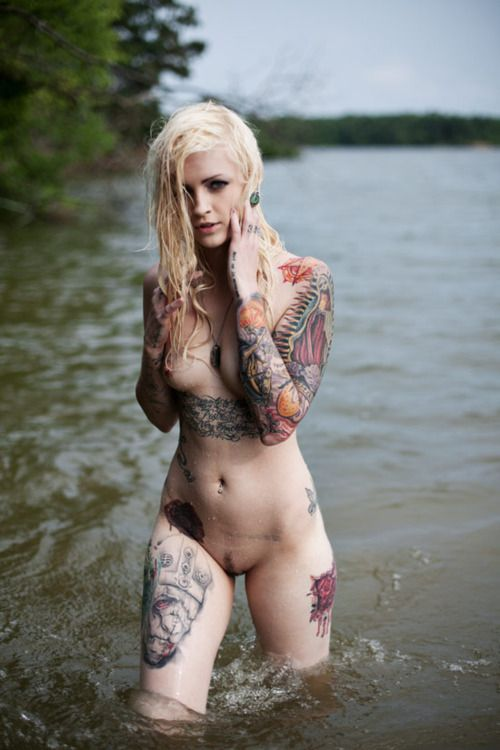 Ttattooed wife nude beach pics