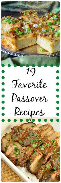 Everything from brisket and chicken soup to kugels and desserts. All family favorites! www.thisishowicook.com #JewishPassoverRecipes
