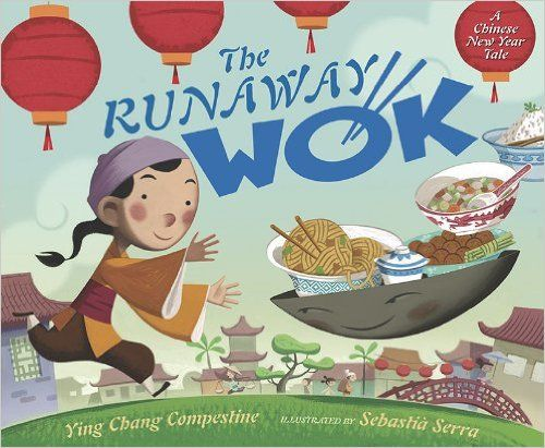 5 Picture Books by Asian American Authors for Back to School Reading #AsianMomBloggersRunaway Wok