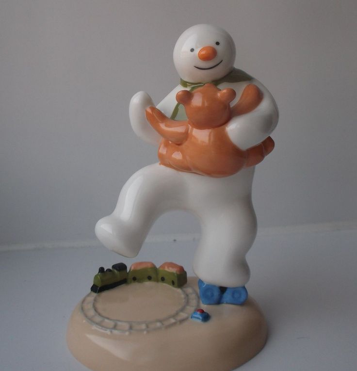 Boxed Coalport Snowman Figure Dancing With Teddy, £21.99 http://www.ebay.co.uk/itm/Boxed-Coalport-Snowman-Figure-Dancing-With-Teddy-/251892188204
